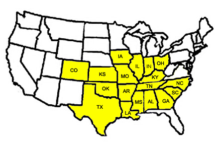 Image map of client states